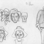 More Dillon sketches