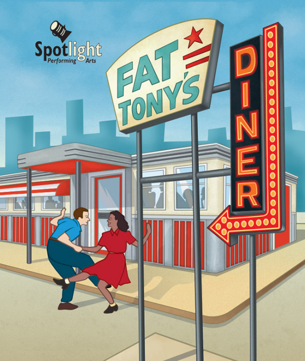 Creating the American Diner Illustration