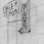 sign perspective sketch